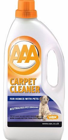 AAA For Pets Carpet Cleaning Solution 1.5L