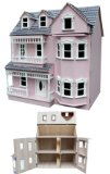 Megalarge beautiful VILLA dolls house townhouse