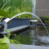 Pond pumps for Koi pond return jets