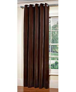 Velvet Curtains 46 X 72 Chocolate Curtains And Blind