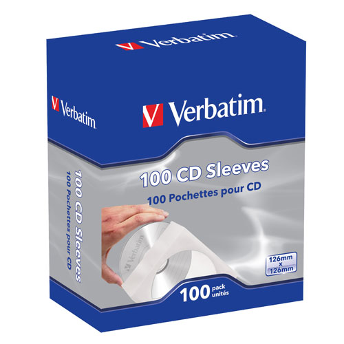 Verbatim CD Sleeves - 100pk product image