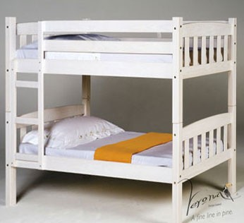 Verona Designs Junior Shorty Whitewash Bunk Bed product image