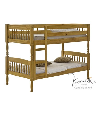 Verona Designs Milan Pine 3ft Bunk Bed product image