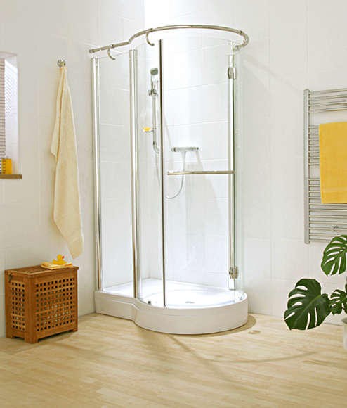 Circular Shower Enclosure