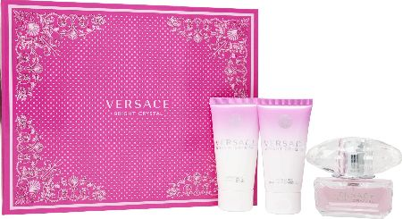 Versace, 2102[^]0106206 Bright Crystal EDT Trio Gift Set