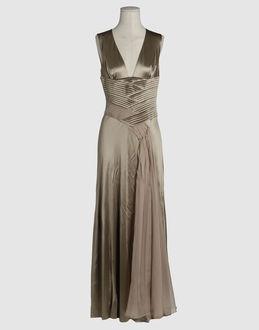 clothing versace dresses long dresses women on yoox