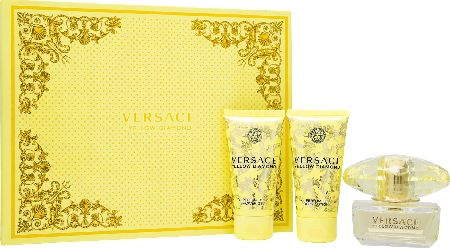 Versace, 2102[^]0106201 Yellow Diamond EDT Trio Gift Set