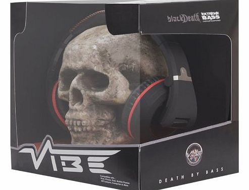 VIBE Audio VIBE BlackDeath Over Ear Headphones product image