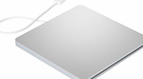 VicTop Ultra Slim USB External Slot DVD VCD CD RW Drive Burner Superdrive for Apple Macbook Pro Air iMAC,PC Laptop with Windows ME/2000/XP/Vista/Windows7