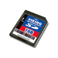 Viking 1GB SD (Secure Digital) Card Retail product image