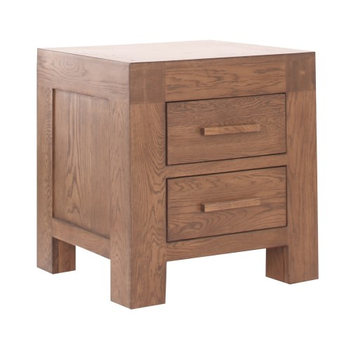 Vineyard Oak Bedside Table Bedroom Furniture - review