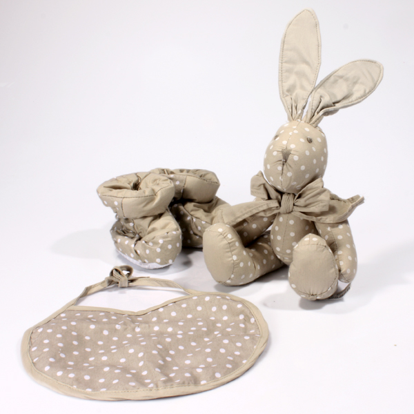 Polka Dot Baby Gift Set - Neutral