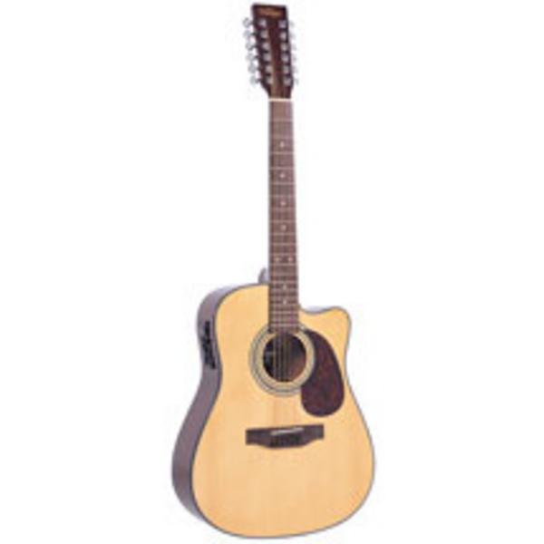 vintage vec500 12 string acoustic guitar review compare prices buy online. Black Bedroom Furniture Sets. Home Design Ideas