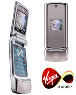 MOTOROLA K1 KRZR Silver Virgin Mobile PAY AS YOU GO - CLICK FOR MORE INFORMATION