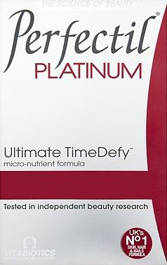 Vitabiotics, 2041[^]10062380 Perfectil Platinum Skin Radiance 60 Tablets