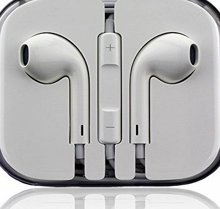 ViTho EarPods Earphones-Md827ZM /for iPhone 5, 5c, 5s, 6, plus 6, iPad 5 Air Mini iPod Classic Touch Nano-Stereo Headset with Remote Control and Microphone