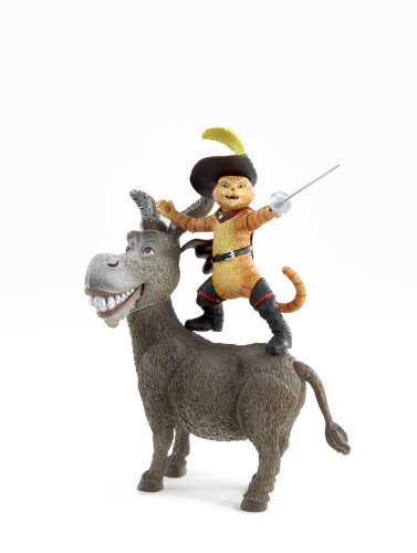 cat in shrek movie.  Shrek - Movie Action Figure Donkey and Puss n Boots