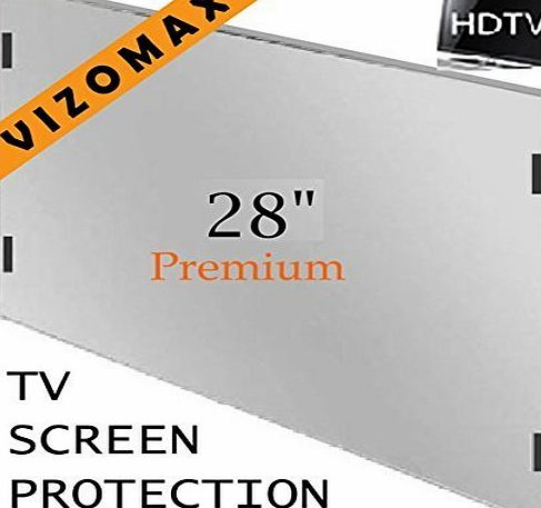 Vizomax 28 inch Vizomax TV Screen Protector for LCD, LED amp; Plasma HDTV