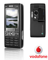Vodafone SONY ERICSSON K800i Vodafone ANY NET PAY AS YOU