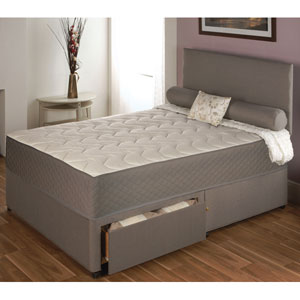 Serenity memory foam 3ft single divan bed bed mattress sale for Memory foam double divan bed sale