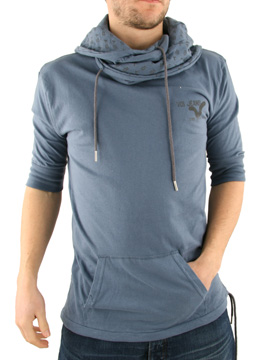 Voi Jeans China Blue Cliff Cowl Neck T-Shirt product image