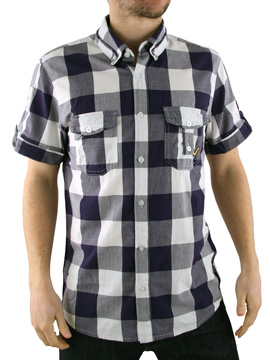 Voi Jeans Deep Blue/White New Johnson Checked product image