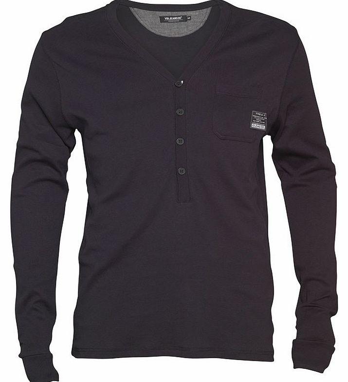 Black Long Sleeve Shirt Mens