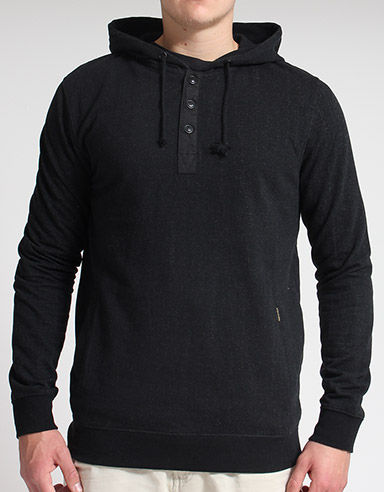 Volcom Black Yard Button neck hoody product image