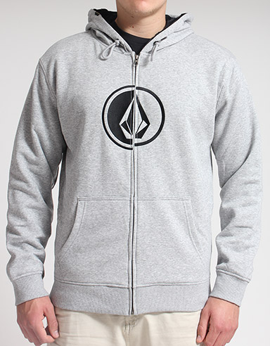 Volcom Circle Stone Faux fur lined hoody product image