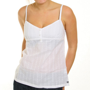 Volcom Ladies Mistery Dance Cami top - White