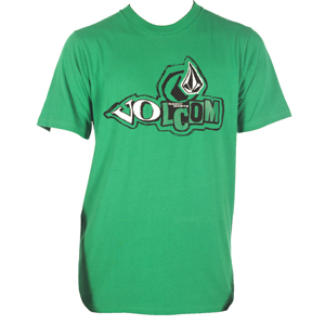 Volcom Mens Mens Volcom Slightly Removed T-Shirt. Green product image