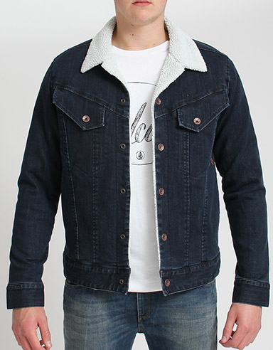 Volcom Ramble Denim Sherpa Jackert product image