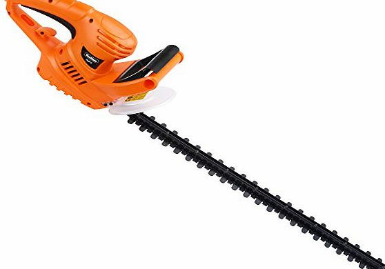 VonHaus 550W Electric Hedge Trimmer / Cutter with 61cm (24 inch) Blade   Blade Cover amp; 10m Cable: Free 2 Year Warranty