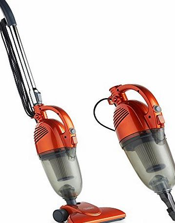 VonHaus 800W 0.7L 2-in-1 Upright Stick amp; Handheld Vacuum Cleaner with HEPA and Sponge Filtration amp; FREE Crevice Tool product image