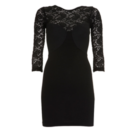 Black Lace Dress on Lace Cut Out Mini Dress In Black Two Words  Sheer Perfection  Black