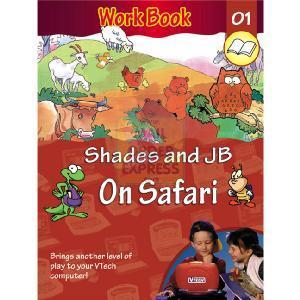 Vtech Shades And Jb On Safari Workbook Educational Toy border=