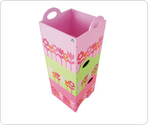 Keep toys tidy with this set of three stackable storage boxes. - CLICK FOR MORE INFORMATION