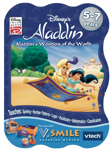Smile Educational Toys : V smile learning game aladdins wonders of the world