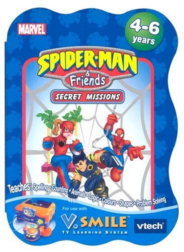 Vtech V.Smile Learning Game: Spiderman & Friends product image