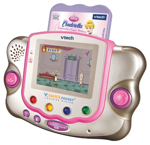 Smile Educational Toys : Vtech v smile pocket pink new bundled with cinderella
