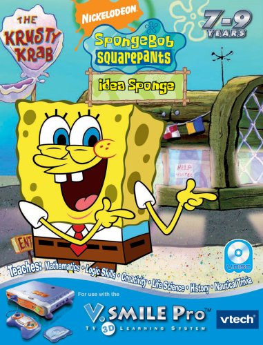 VTech V.Smile Pro Learning Game: SpongeBob SquarePants: Idea Sponge product image