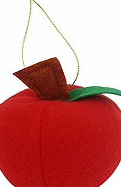 Vultera TM) 50pcs foam Apple Tree Hanging Accessories Christmas Decoration Ornament Xmas Gift Artificial Fruit Model