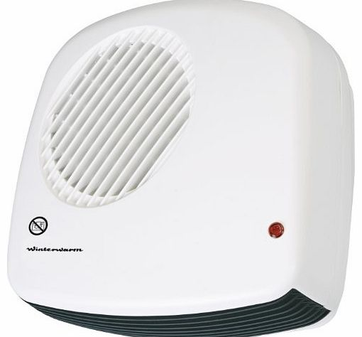 W/WARM Winterwarm 2 KW Wall Mounted Downflow Bathroom Fan Heater product image