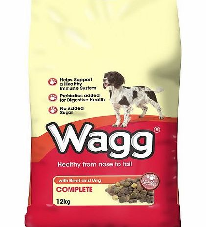 Wagg Dry Dog Food Review Beef