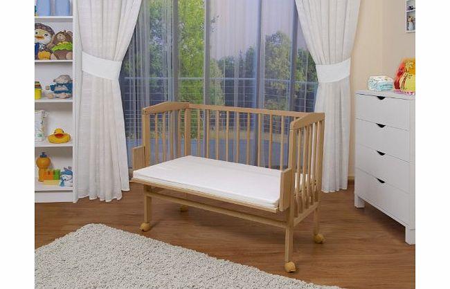 Waldin Baby Bedside Cot Co Sleeper Height Adjustable