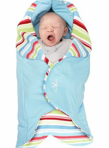 Wallaboo Baby Wrap Jolie (Sky Blue) product image