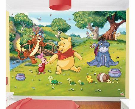 winnie the pooh winnie the pooh wall c. Black Bedroom Furniture Sets. Home Design Ideas