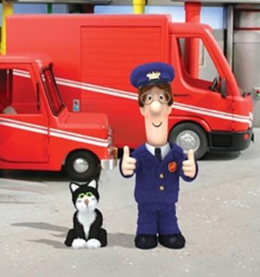 pics photos postman pat wallpaper mural postman pat wall stickers ebay