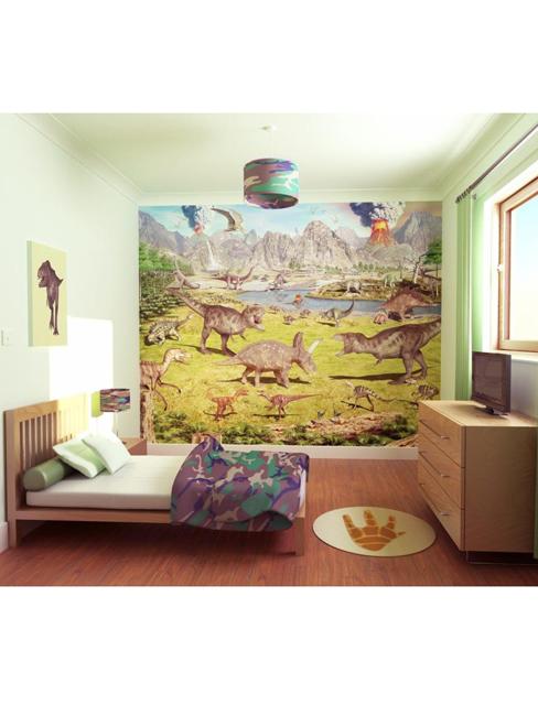 dinosaur wallpaper. Dinosaur Land Wallpaper