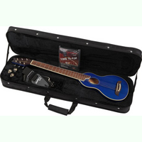 Washburn Rover RO10 Traveller Acoustic Guitar Blue:The ultimate travel guitar! Play it any time or any place. - CLICK FOR MORE INFORMATION